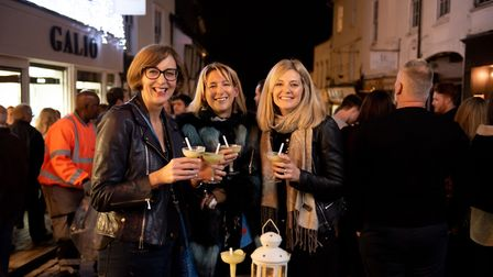 St Albans George Street Gin and Jazz event. Party-goers enjoying the vibe. Picture: Stephanie Belton