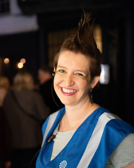 St Albans George Street Gin and Jazz event. BID manager Helen Burridge. Picture: Stephanie Belton