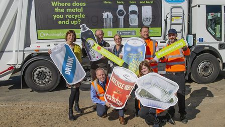 Representatives from Alupro and the operations division at Huntingdonshire District Council