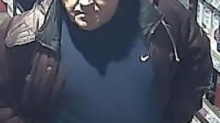 Officers would like to speak to the man pictured as they believe he may have information that can as
