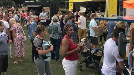 A previous Royston Street Food Heroes event. Picture: Street Food Heroes