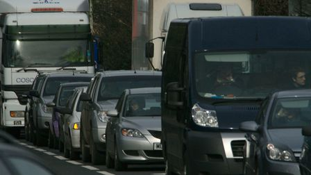 A broken down vehicle has caused long delays on the M1 this evening. Stock image. Picture: Archant