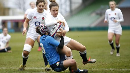 Sarah McKennas early season form for Saracens has earned her a call-up to the England squad. Picture