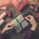 Week 7: Wrap and label all gifts as you go. For close family members use a different wrapping paper