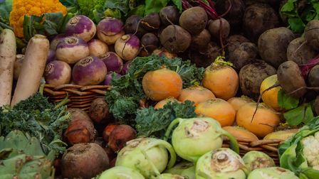 Rich harvest: Some of this season's vegetables. Picture: Thinkstock/PA.