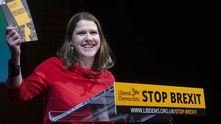 Jo Swinson, MP for East Dunbartonshire and deputy leader of the Liberal Democrats. Picture: PA/David