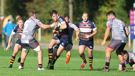Old Albanian V Taunton - Alex Ricci in action for Old Albanian.Picture: Karyn Haddon