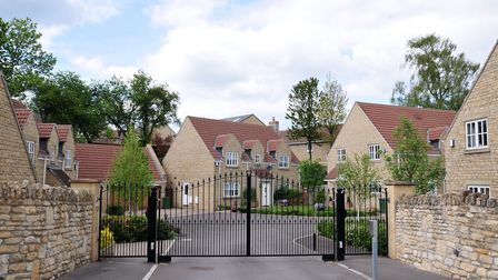 Gated communities are an option for homeowners requring a greater sense of security. Picture: Getty