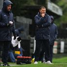 Royston Town V Bedworth United - Manager Steve Castle (Royston Town ).Picture: Karyn Haddon
