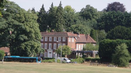 The Harpenden House Hotel site as it looked before development work began. Picture: Barry Watson