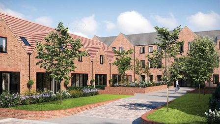 CGI of Welcombe Mews, Harpenden. Picture: Fairview New Homes