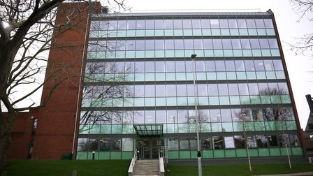 The North Herts District Council offices. Picture: DANNY LOO
