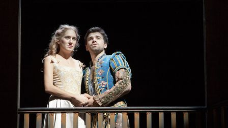 Imogen Daines and Pierro Niel-Mee in Shakespeare in Love at Cambridge Arts Theatre Picture: Pete Le