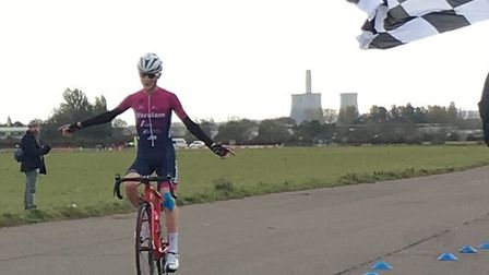 Verulam Reallymoving's Will Smith solos in to take the win at RAF Abingdon.