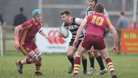 Fred Gulliford scored one of the five Harpenden tries against Hampstead. Picture: KARYN HADDON