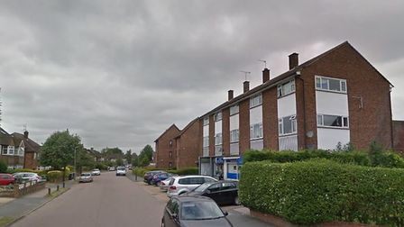 Central Drive in St Albans, where police and a bomb disposal squad were called. Picture: Google.