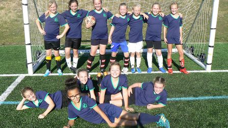 Crosshall Junior School were runners-up in the tournament.