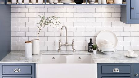 Caple's stainless steel Putney Bridge tap, from around 330 (shown here with a Chepstow sink in a Har