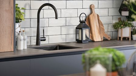 Caple's Ridley tap, which comes in a stylish copper and gunmetal finish, from around 238 (shown here