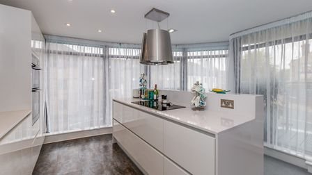 The kitchen has a Quooker hot water tap and Silestone worktops. Picture: Ashtons