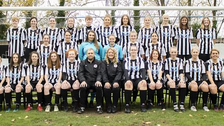The St Ives Town Ladies first team and Development side. Picture: LOUISE THOMPSON