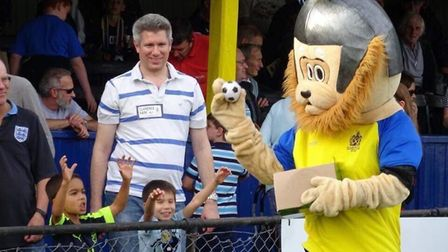 St Albans City Football Club's non-league day for Prostate Cancer UK. Picture: St Albans City FC
