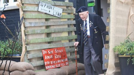 The Veterans Lunch at Oaklands College's The Stables restaurant. Picture: Oaklands College