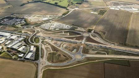 Highways England is upgrading 21 miles of the A14 between Cambridge and Huntingdon, with the new roa