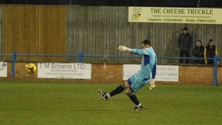 Goalkeeper Martin Conway made an impressive St Ives Town debut as they were beaten at King's Lynn To
