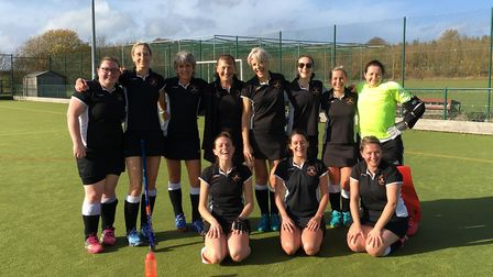Huntingdon 1sts are still smiling after their 10-0 defeat.