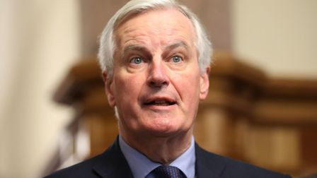 A letter has been sent to the EU's chief Brexit negotiator Michel Barnier asking him to reopen discu