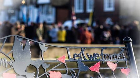Remembrance in Godmanchester