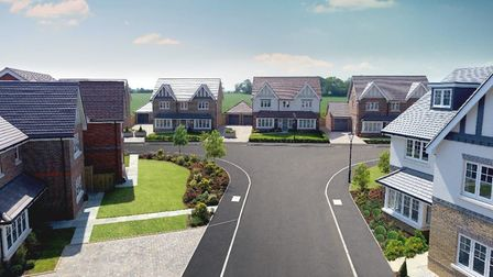 CGI of the Westminster Fields development in Harpenden. Picture: Shanly Homes