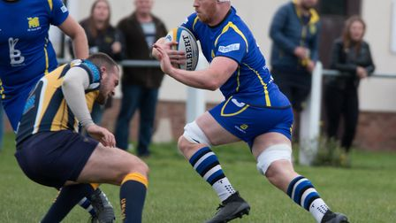 Josh Meadows scored two tries as St Ives triumphed at Oakham. Picture: PAUL COX