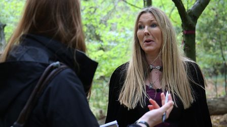 Herts Advertiser reporter Franki Berry speaks with professional witch Dee Johnson about witchcraft.