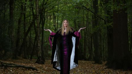 Third degree witch Dee Johnson. Picture: DANNY LOO