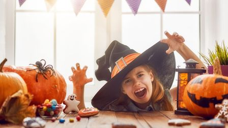 Halloween activities at Notcutts St Albans. Picture: Notcutts