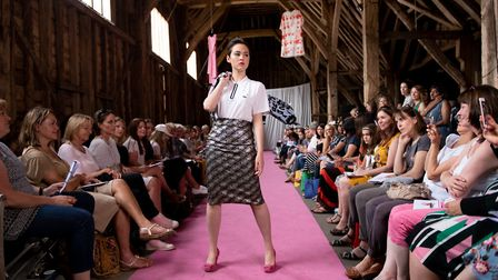The charity fashion show. Picture: Stephanie Belton