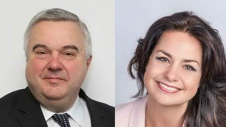 North East Herts MP Sir Oliver Heald and his South Cambs counterpart Heidi Allen. Picture: Archant