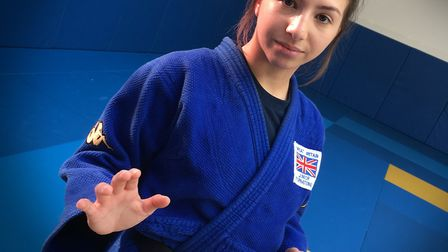 Teenage Judo champion Amy Platten from St Albans was nominated for Young Sportsperson of the Year. P