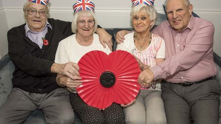 St Albans retirees mark Remembrance Day at Eleanor House. Picture: McCann PR