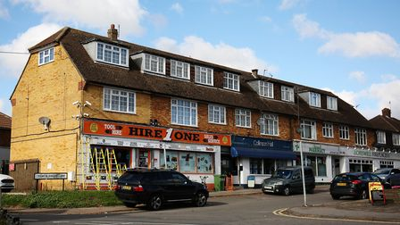 Chiswell Green has an interesting mix of shops. Picture: DANNY LOO