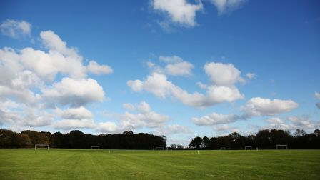 Football pitches are also on offer at Greenwood Park. Picture: DANNY LOO