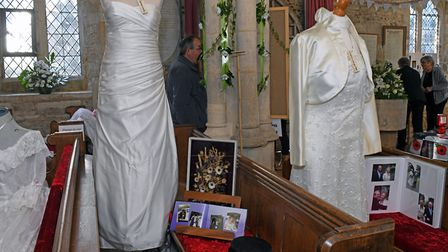 Catworth Craft Fayre held in conjunction with the St Leonards Church Patronal Festival. Picture: ARC