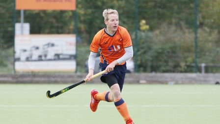 Jeff Parker in the match between St Albans and Saffron Walden men's first teams. Picture: DANNY LOO