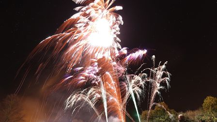 A previous firework display at Icknield Walk First School. Picture: David Hatton.