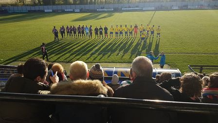 St Albans City travelled to Imperial Fields to take on Dulwich Hamlet in the Vanarama National South
