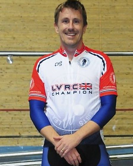 Jason Kierman enjoyed success at the LVRC National Track Championships. Picture: CHARLES WHITTON PHO