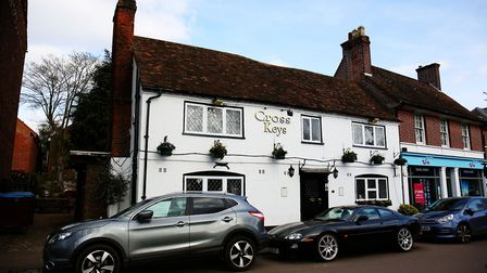 The Cross Keys, Harpenden. Picture: DANNY LOO