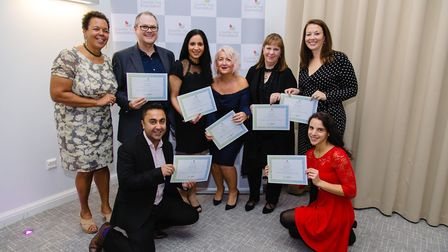 Some of the new graduates from The Counselling Federation.